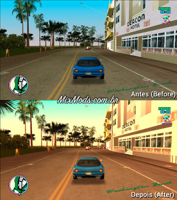 gta vice city ps2 trails graphics mod