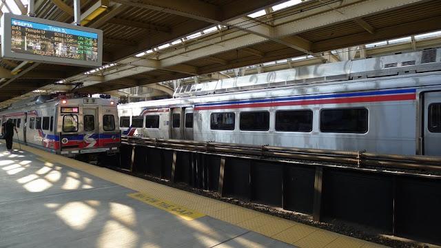 Trem em Philadelphia
