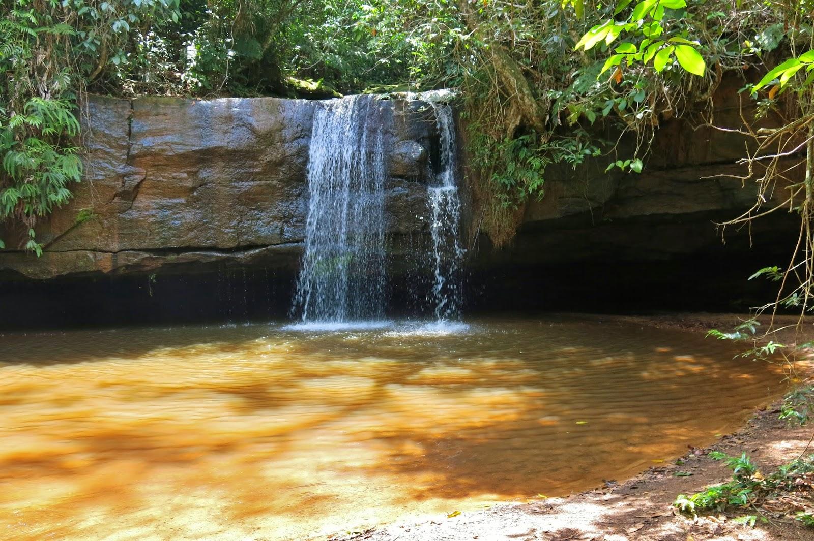 Cachoeira no Parque Nacional da Chapada dos Guimarães.