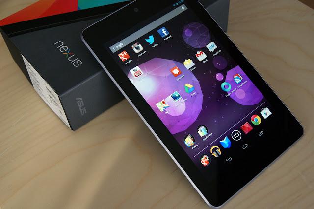 pantalla Nexus 7