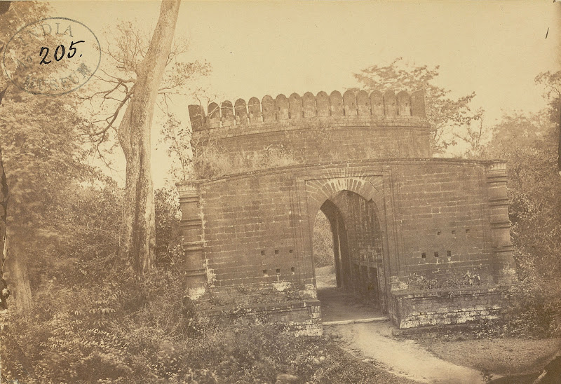 North Entrance Gateway to the Fort, Bishnupur, Bankura District, Bengal - 1869