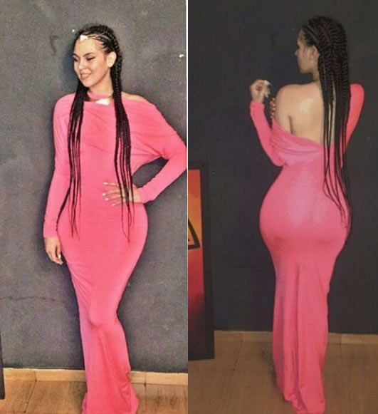 The curves on IK Ogbonna's wife though
