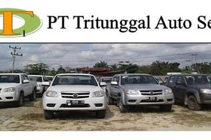 Lowongan PT. Tritunggal Auto Sejati Pekanbaru November 2018
