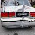 Jiran maut, kereta dipandu remaja 13 tahun rempuh rumah