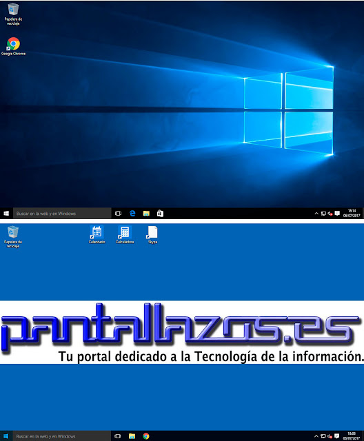 Configuración perfil de usuario local de Windows 10.
