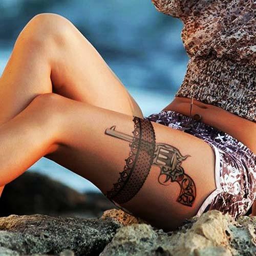 dantel dövmeleri lace tattoos 22
