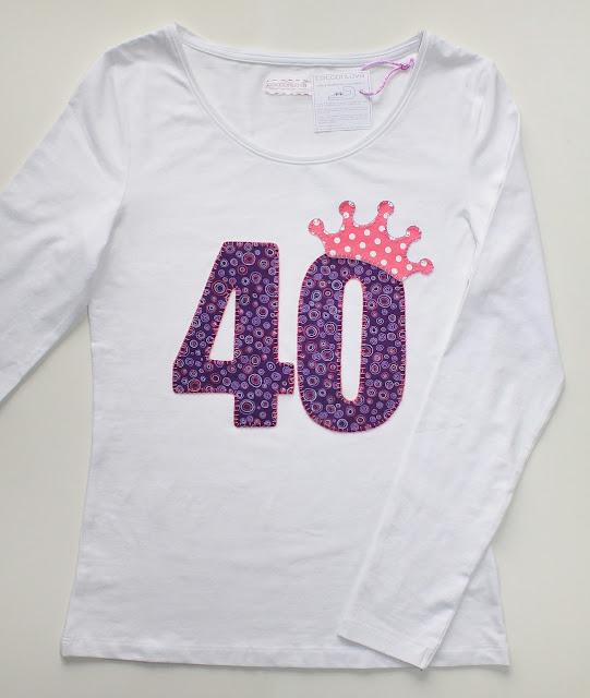 camiseta 40 cumpleaños