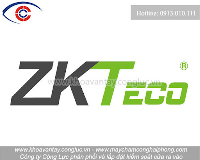 Logo thương hiệu kiểm soát cửa ZK Teco.