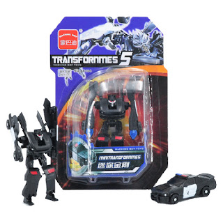 Transformers 5 AX104 Barricade Mini Deformation Robot Vehicle Toys Gifts Kids