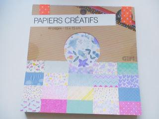papier scrapbooking bouquet fleurs diy pâques