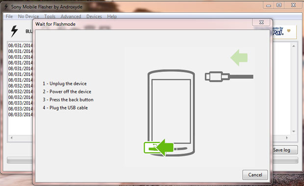 Install a Sony Xperia USB Driver
