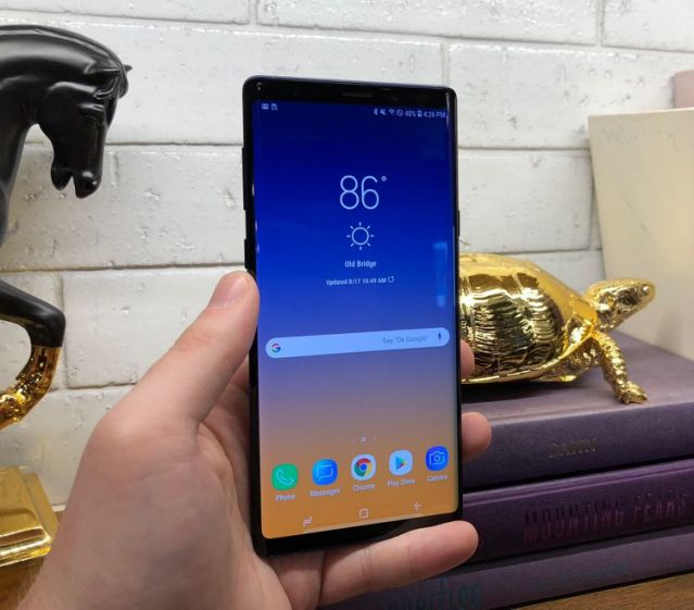 Samsung Galaxy Note 9 review & price : Ejitex