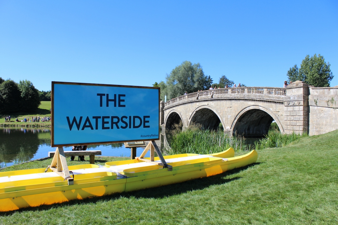 The Waterside at Countryfile Live