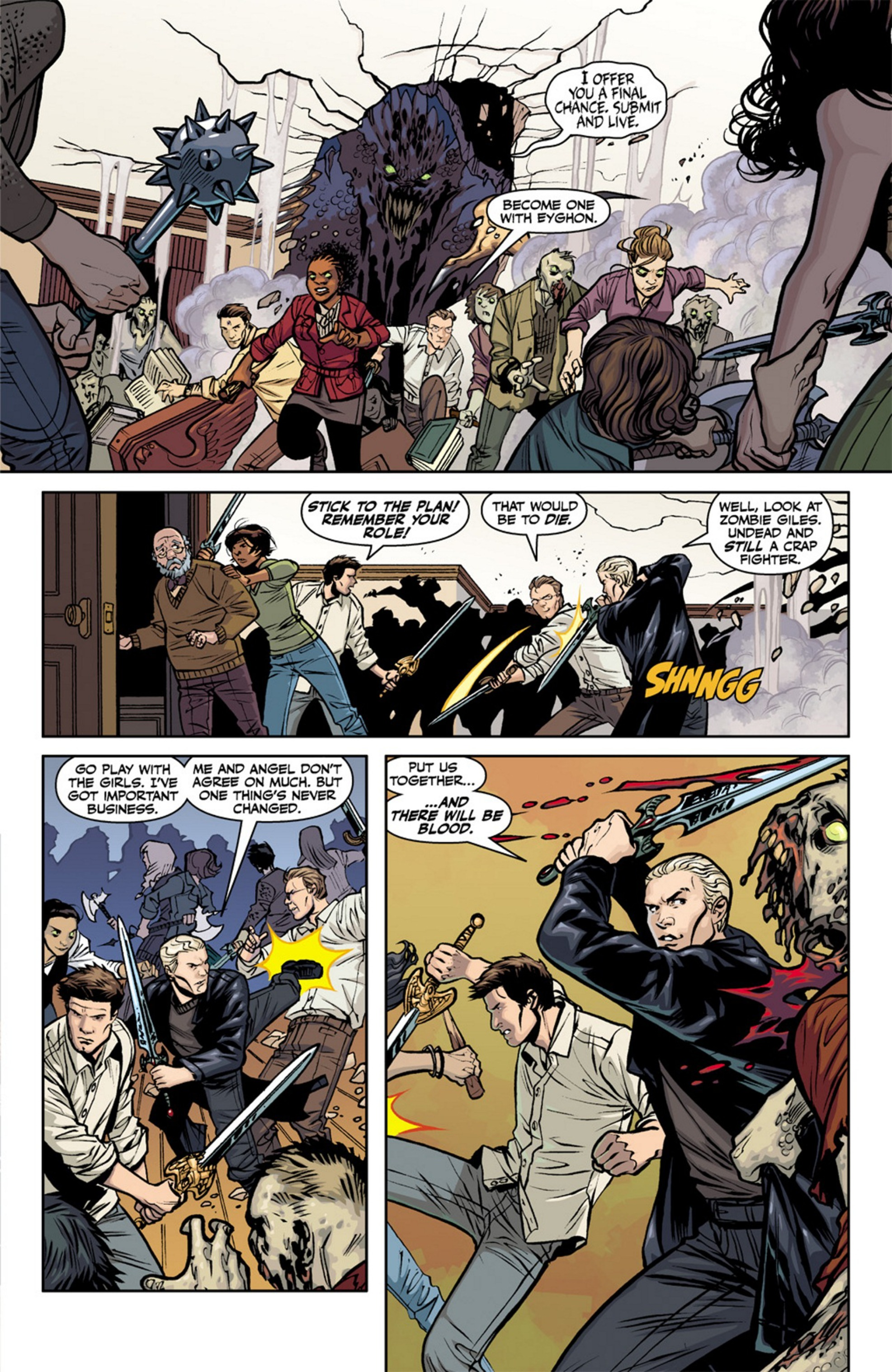 Read online Angel and Faith comic -  Issue #19 - 10