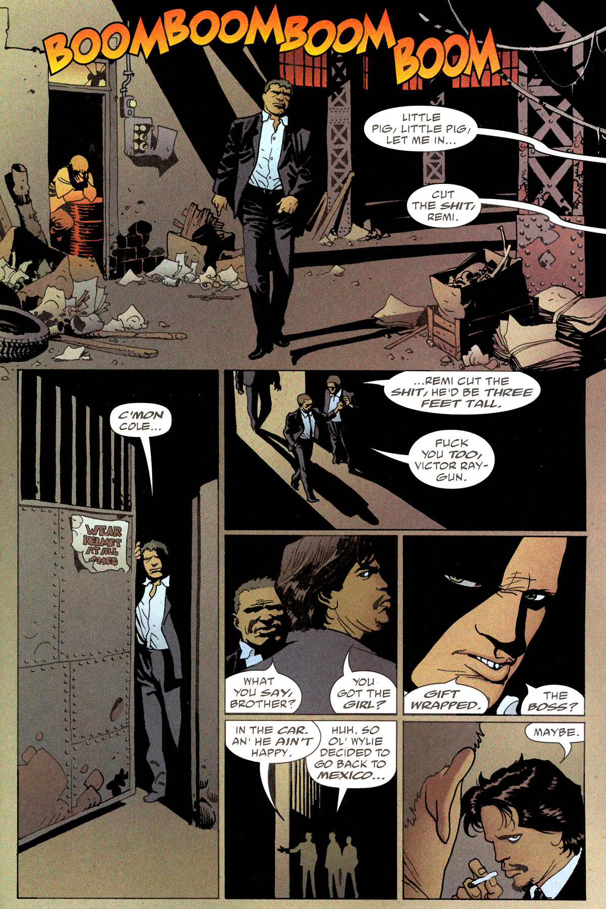 Read online 100 Bullets comic -  Issue #80 - 4