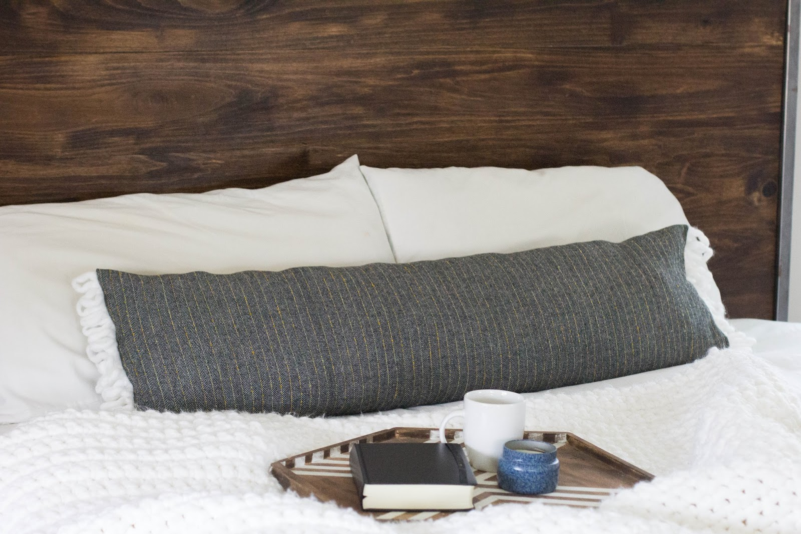 always rooney: Extra Long Lumbar Pillow | DIY