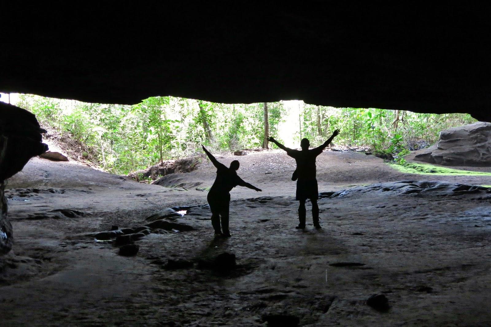 Caverna Aroe-Jari, entre o Cerrado da Chapada dos Guimarães