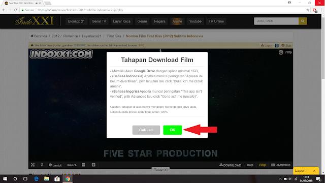 Cara Download Film di Indoxxi Melalui Komputer dan Laptop, 100% Work!
