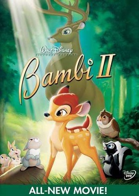 Bambi II (2006) Dual Audio Hindi 650MB BluRay 720p