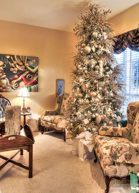 Christmas tree in Fairhope