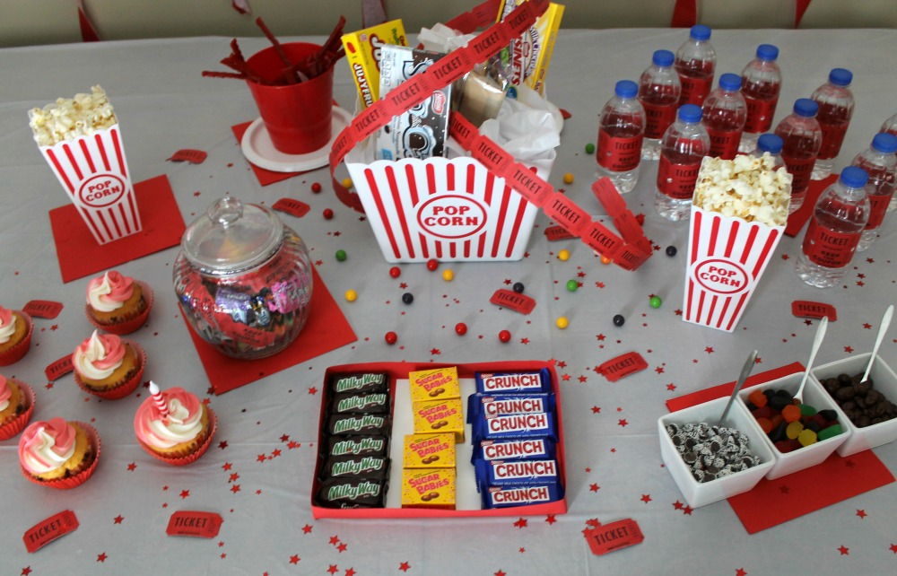 Movie Night Themed Party Ideas Outnumbered 3 To 1