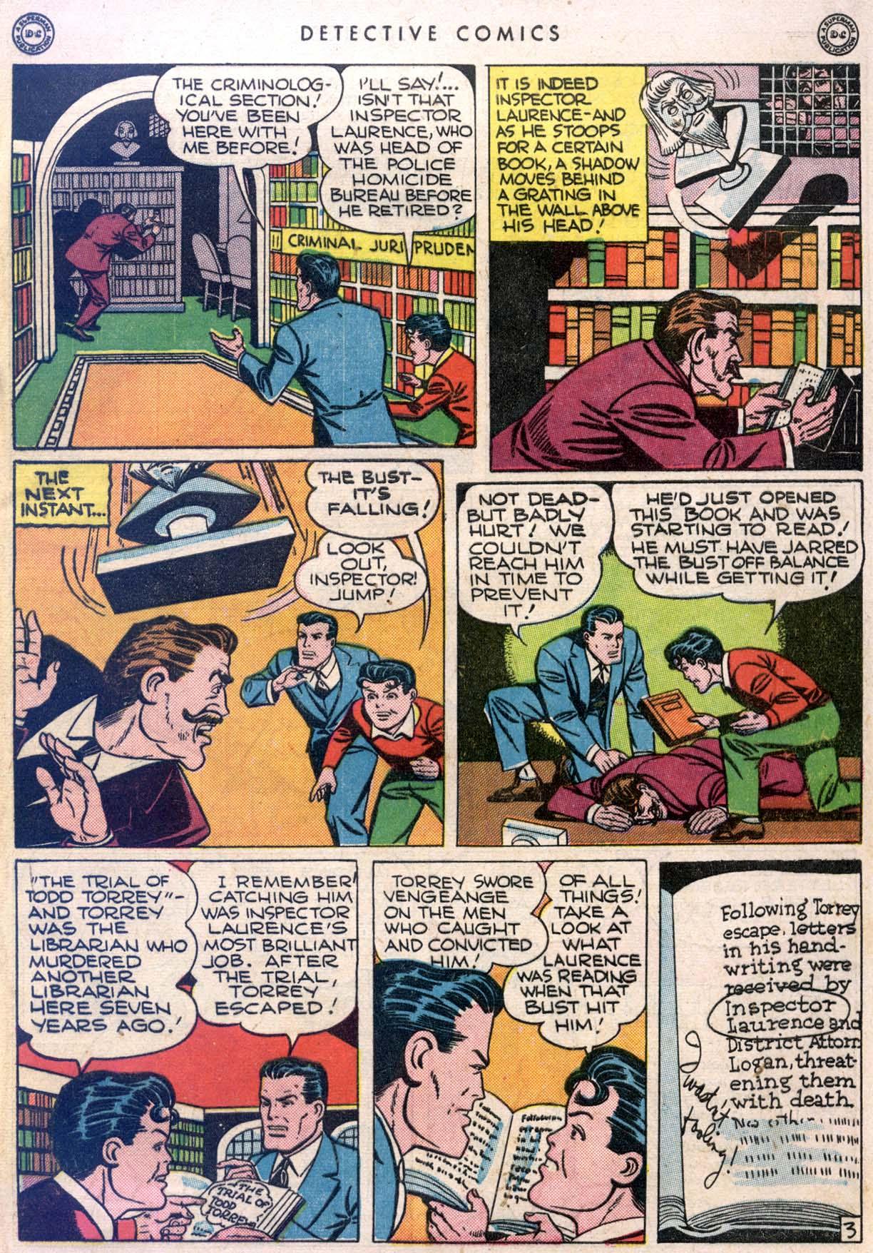 Read online Detective Comics (1937) comic -  Issue #106 - 5