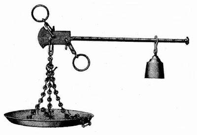 Stratera romaine à crochet ou à plateau (e-stoire.net)