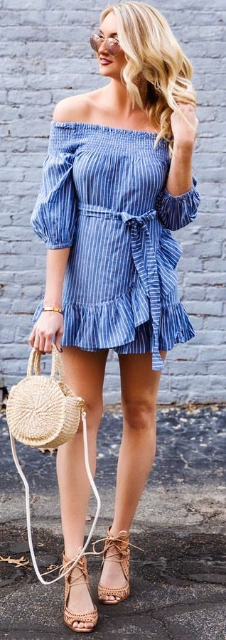Pretty Spring Outfits To Copy Right Now #Spring #Outfits
