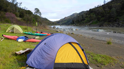 Kayak Camping on Eel River