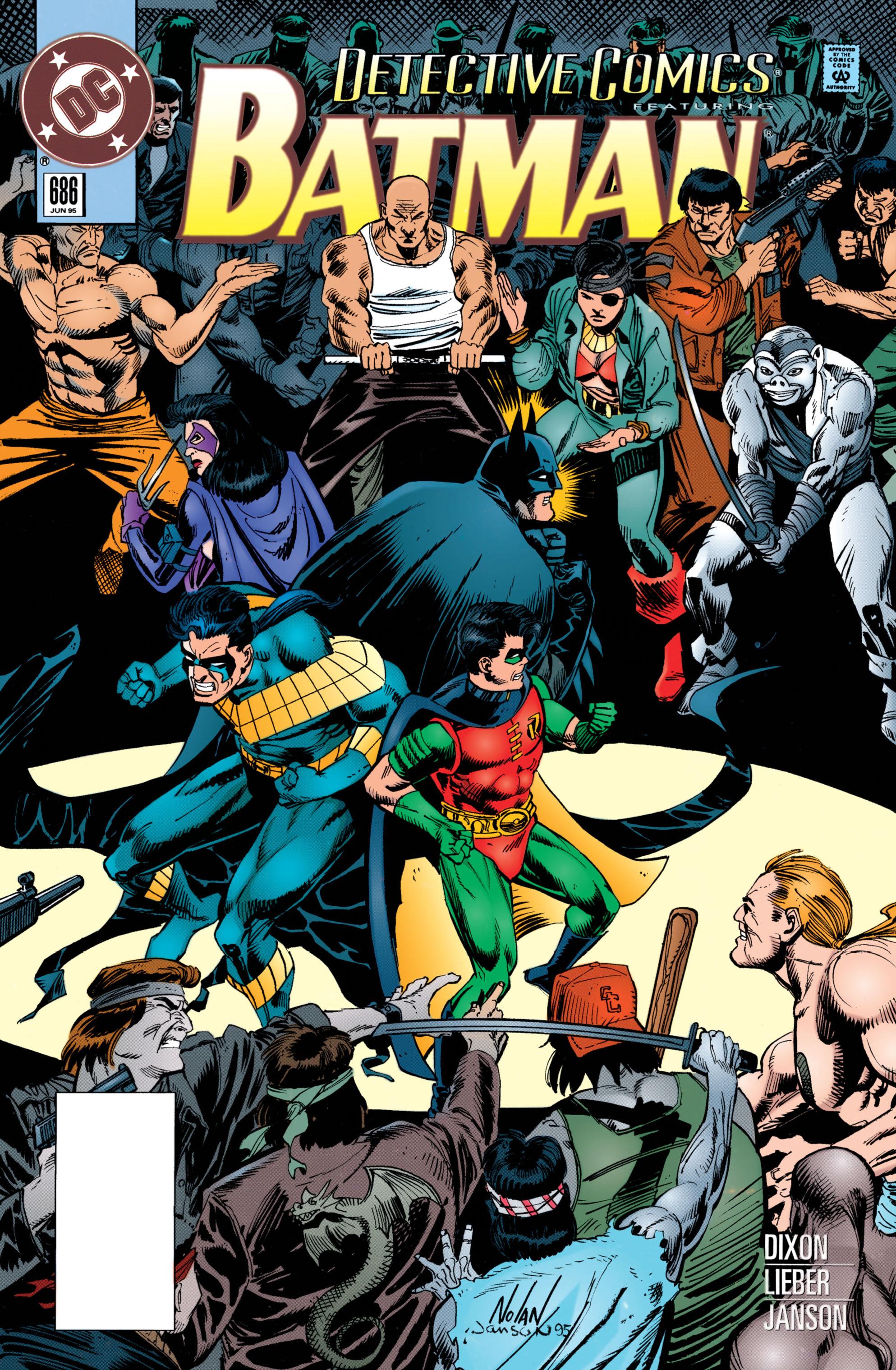 Detective Comics (1937) 686 Page 1