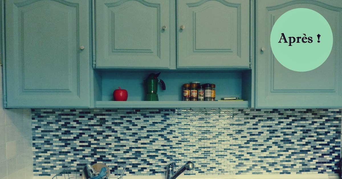 initiales gg avant apr s r nover sa cuisine en 2 week end. Black Bedroom Furniture Sets. Home Design Ideas