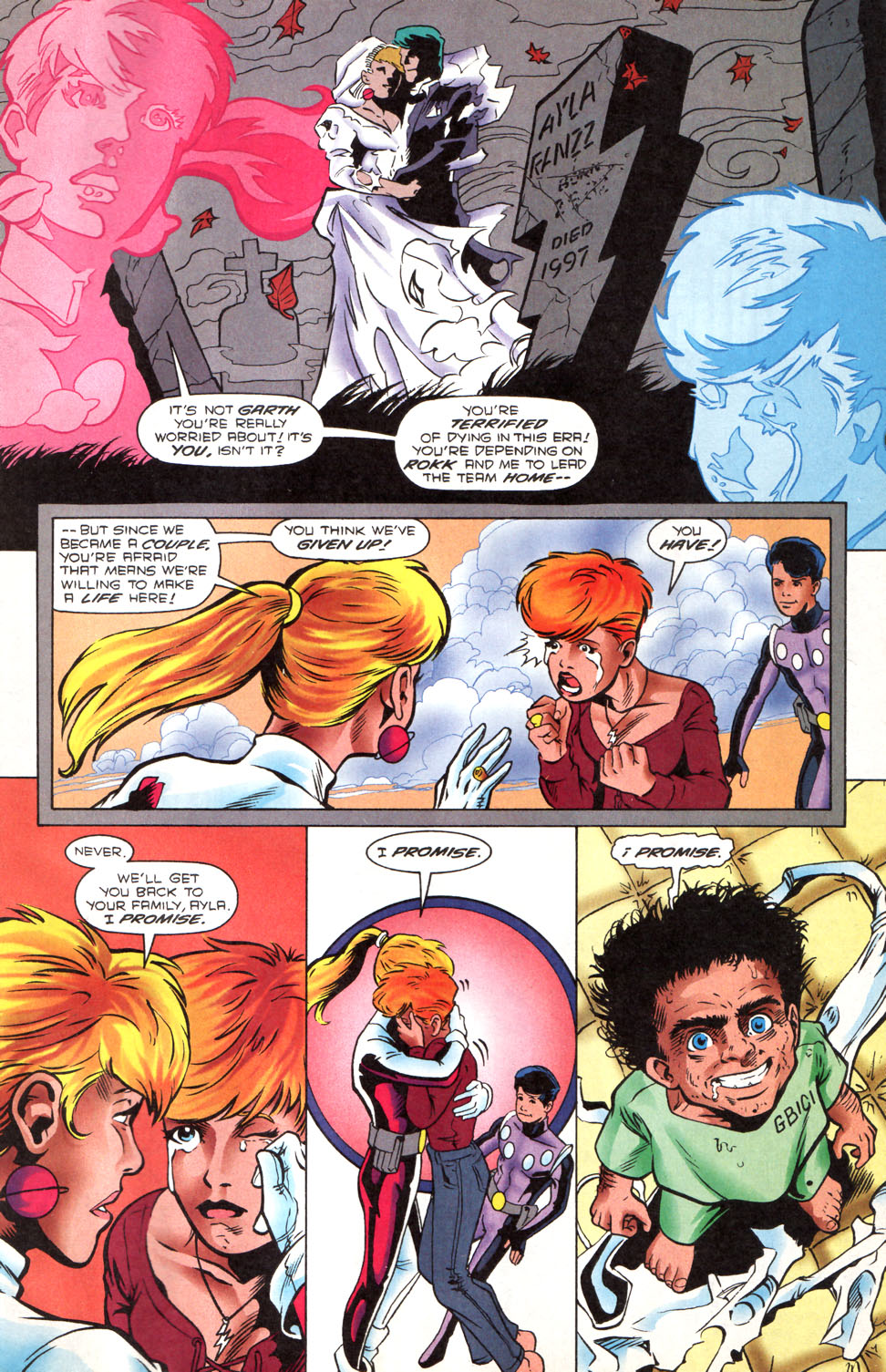 Legion of Super-Heroes (1989) 89 Page 19