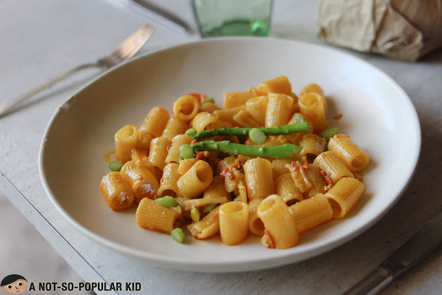Mezzi Rigatoni of Grace Park Restaurant