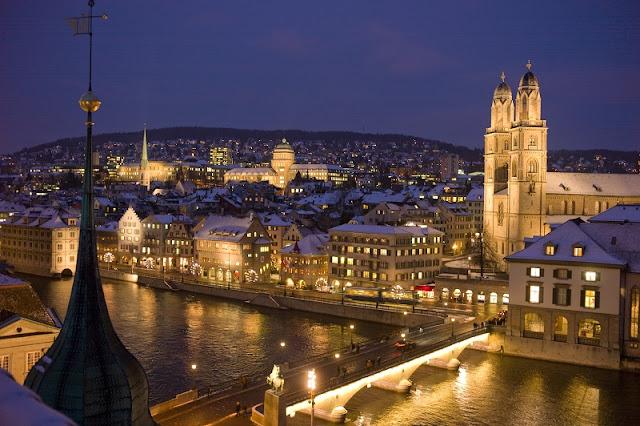 Horário de verão em Zurique