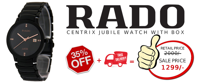 a75a75e09bd5 Presenting Rado Centrix Jubile Watch in Pakistan by shoprex at affordable  price. The shape and style of the Rado Centrix Watch make this a watch to  desire.
