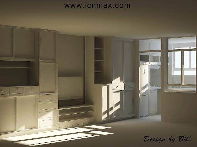 3dsMax白模型設計作品