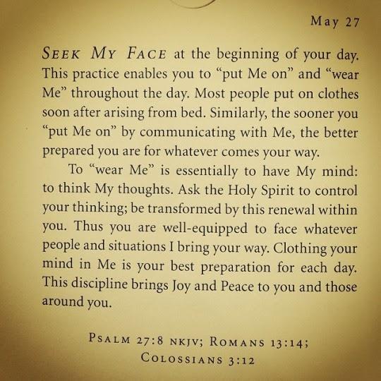 The Praying Sweetheart   : May 2015
