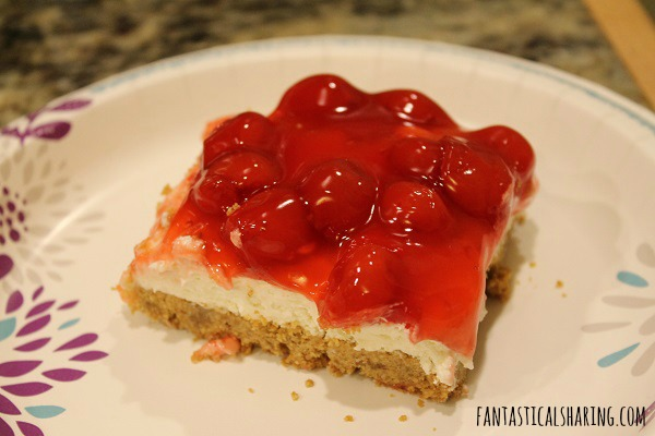 Cherry Delight #dessert #cherry #cheesecake #recipe