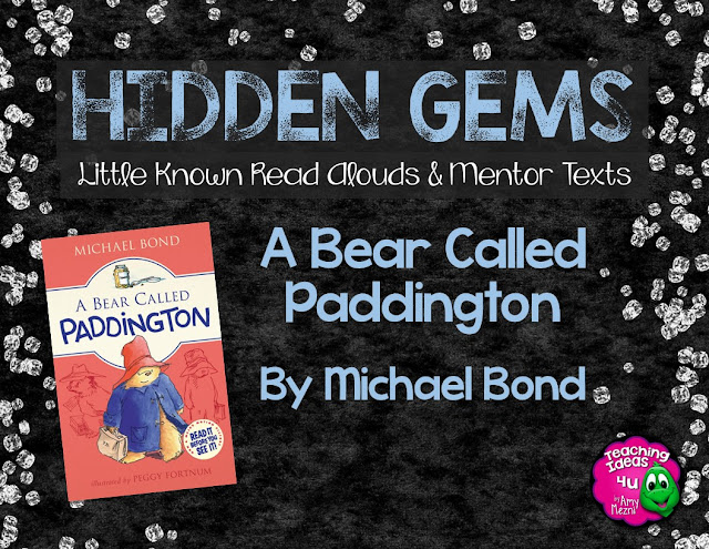 A Bear Called Paddington is a great book to use as a read aloud or in a literature circle book in upper elementary. It would also be a wonderful book to use in a unit on immigration or culture.