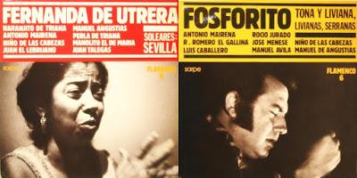 MANUEL DE ANGUSTIAS... Flamenco  Sarpe BMG-ARIOLA 1988