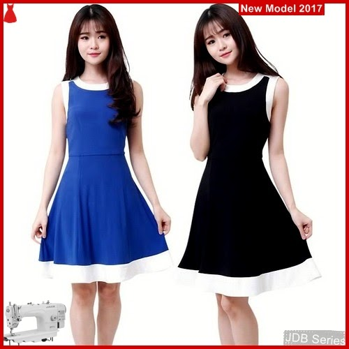JDB079 FASHION Perempuan Th Fitflare Dress BMGShop