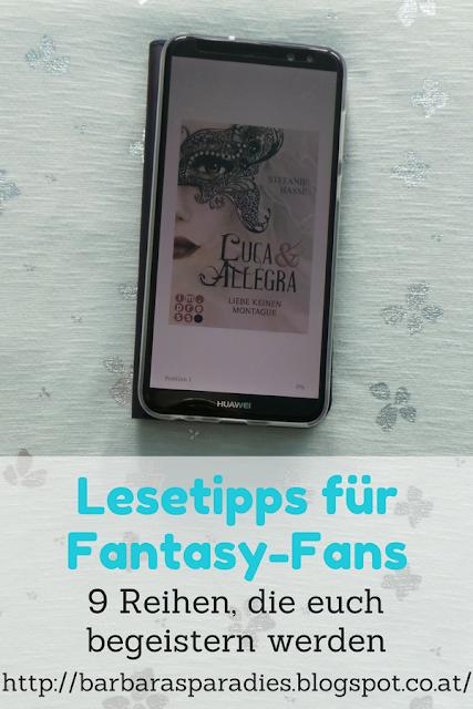 Lesetipps für Fantasy-Fans: 9 Reihen, die euch begeistern werden - Luca & Allegra-Dilogie von Stefanie Hasse