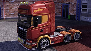 Scania Streamline skin pack by Oswald