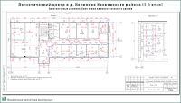 Проект логистического центра в пригороде г. Иваново - д. Коляново - Архитектурные решения - План этажа