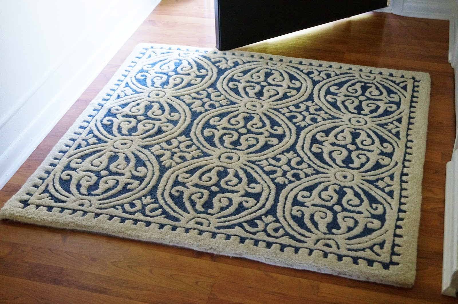 Don't Disturb This Groove: A New Entry Rug