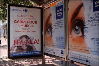 fotografia,publicidad,banco,centro,comercial,carrefour,serie,arriba_extraña,murcia