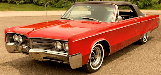1967 Chrysler 300 Convertible Front Left