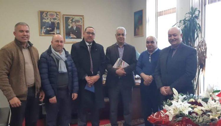 الطاوس يجتمع بالقنصل العام ببلجيكا لمناقشة القضايا الإدارية ومشاكل الجالية المغربية