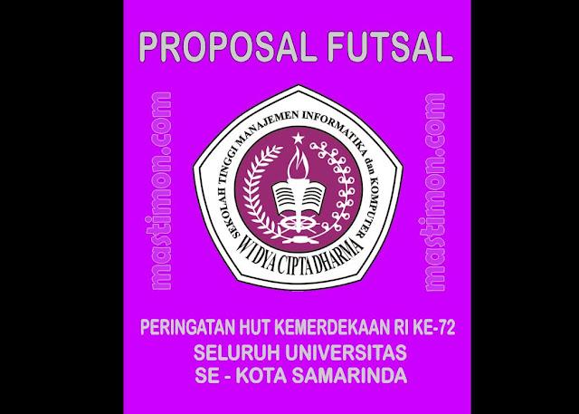 Contoh Proposal FUTSAL untuk mengadakan sebuah Turnamen