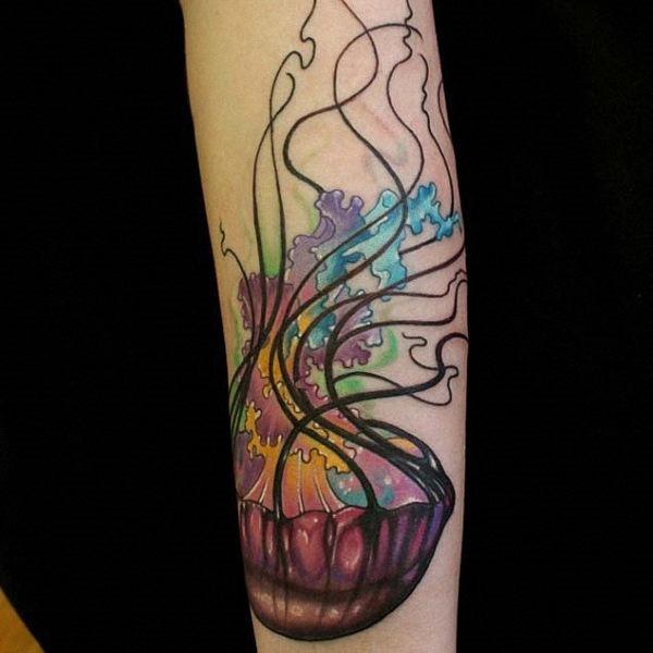 Tatuagens de Águas-vivas